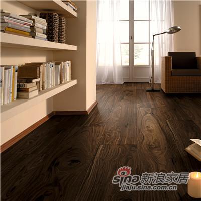 德合家ROOMS 强化地板RV804胡桃木