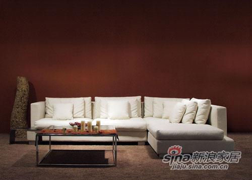 意风板式家具 - 转角沙发2