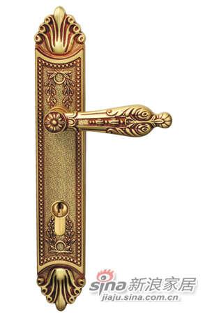 雅洁AS2011-C1816-92英文45抛铜锁体+英文70铜锁胆-0