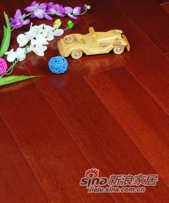宏鹏地板金铂面防潮实木系列―番龙眼WFT-19-02A-0