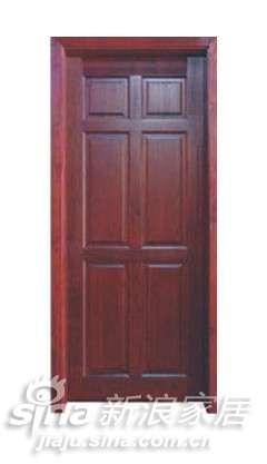 格兰派实木复合门-清油