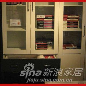 欧嘉璐尼 SS105-D双门书柜-0