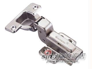 雅洁AK8247B-10(新款)烟斗铰+镍,内藏式,110度(可拆装)-0