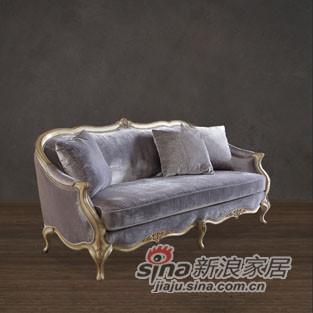 福溢家居凡尔赛玫瑰沙发