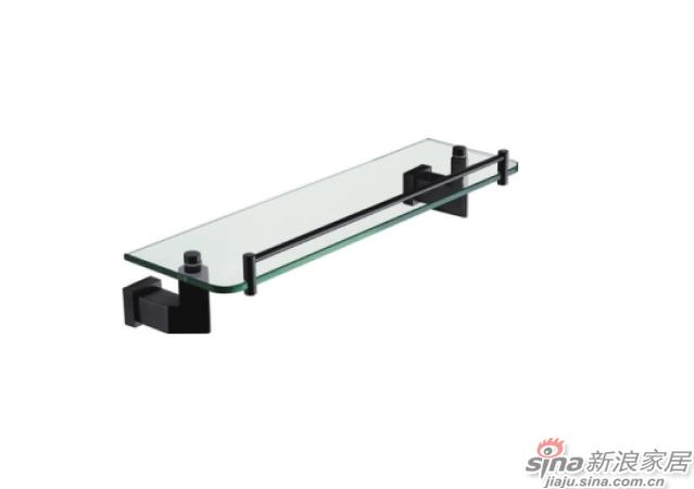 SM3110K单层玻璃置物架