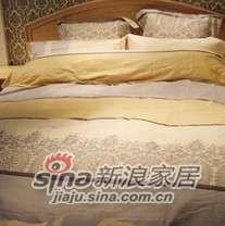 紫罗兰家纺床上用品全棉活性印花四件套心之畅想曲PCKA305-4