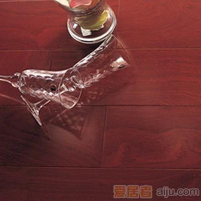比嘉-实木复合地板-雅舍系列-YSC012:非洲红檀(910*125*12mm)1