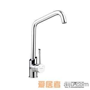 GORLDE单把单孔厨房水槽/洗菜池龙头XDD/415YZ1