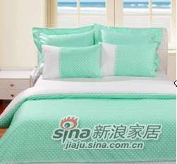 MLILY特价套件全棉斜纹活性印染莉维拉(绿)-0