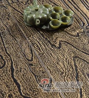 【永吉地板】实木复合仿古罗浮宫系列——椿木古尼拉之星(大)