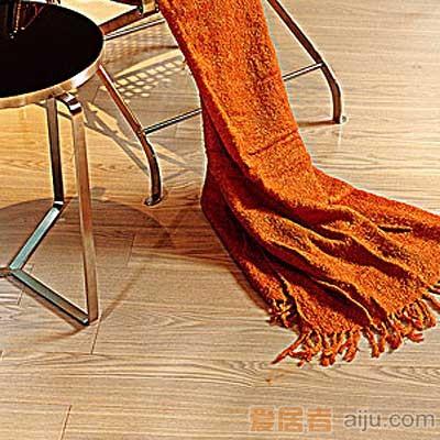 比嘉-实木复合地板-雅舍系列:欧洲白橡(910*125*15mm)