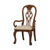 艾芙迪 餐厅家具 扶手椅 实木 原木色 ACL50B-402