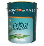 美涂士白竹炭活性氧健康墙面漆