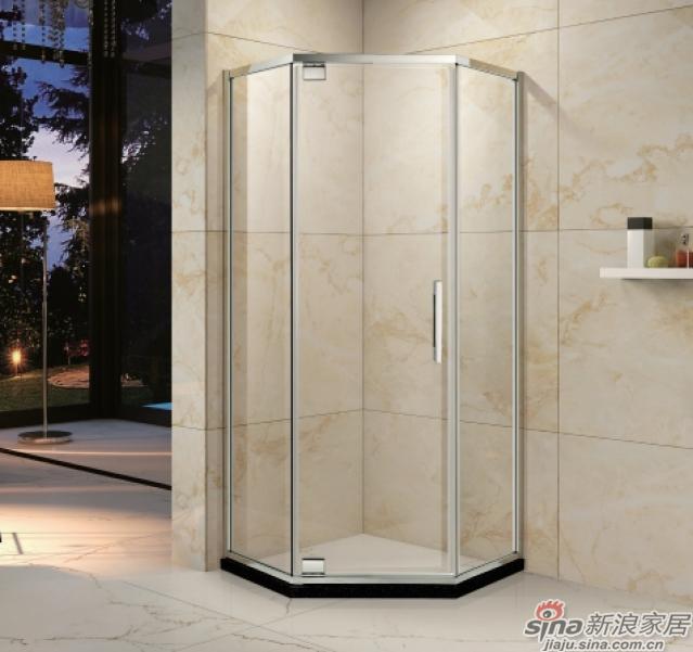 SH2-3121Z钻石型二固一开沐浴房