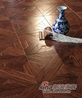 宏鹏地板艺术拼花系列—浪迹撒哈拉PH148
