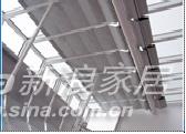 乐健装饰PTS-006双轨折叠天棚帘