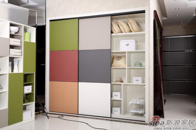 合生雅居罗段系列移门衣柜-1