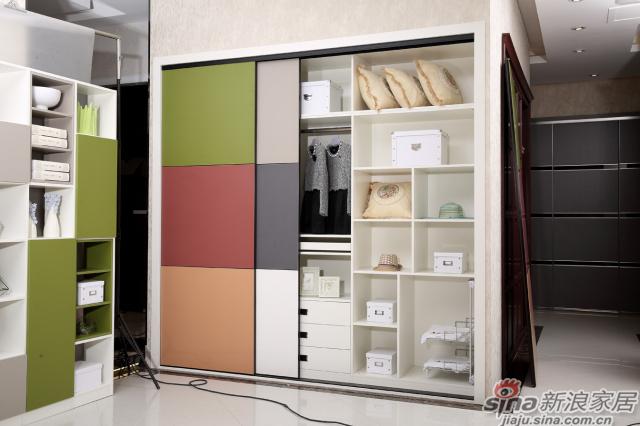 合生雅居罗段系列移门衣柜-2