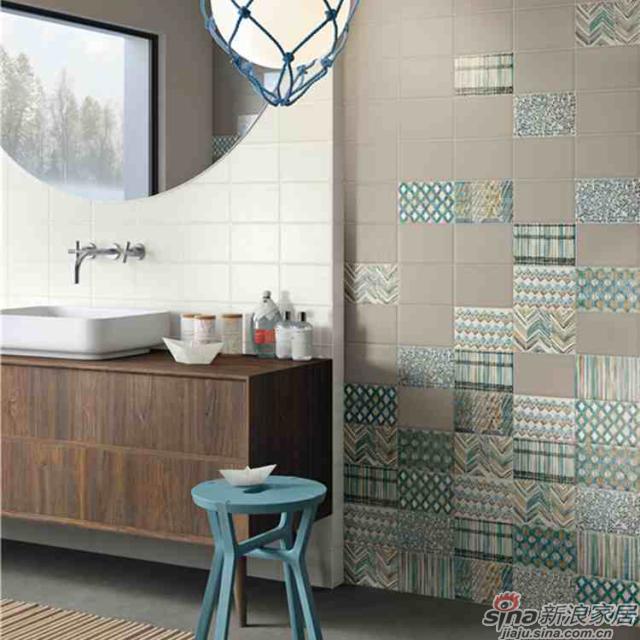 IMOLA陶瓷把带有异域民族风情和特色的纺织工艺融入到瓷砖设计中。<br><center><b>【工艺品质】</center></b>1200度以上的高温烧制能使釉料充分分解,窑变呈现出最佳颜色,同时1200度高温也使得砖坯能达到高硬度。
