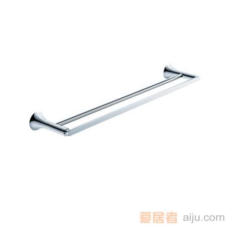 雅鼎-冰清玉洁系列-双杆毛巾杆7027040(600MM)1