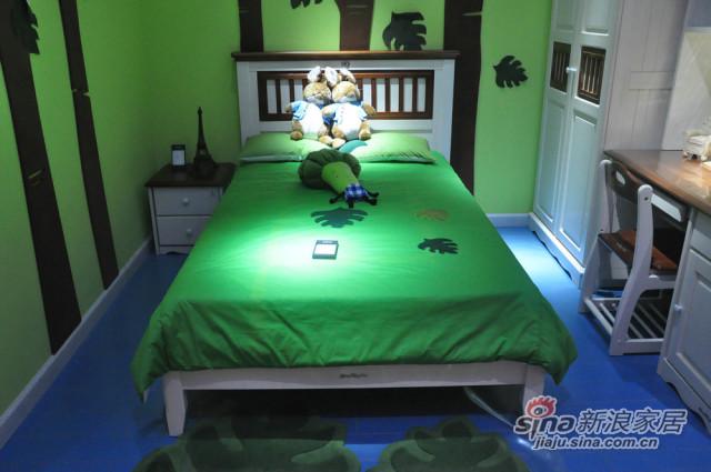 松堡王国单层床-0