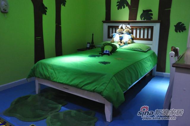 松堡王国单层床-2