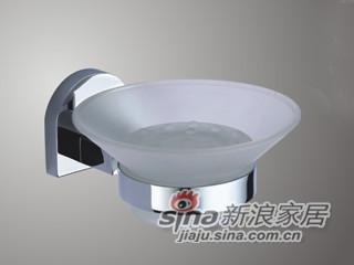 雅洁AT1023C-31皂液器.托架+铬-0