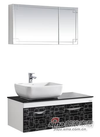 安华卫浴浴室柜anPGM43007-B