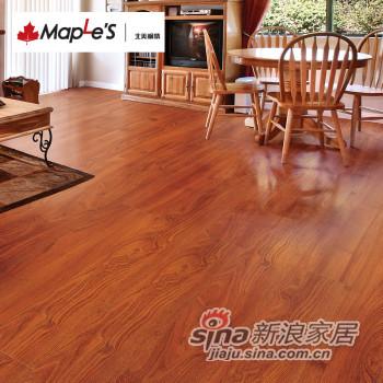 北美枫情地板 强化复合地板 -0