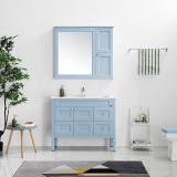 航标卫浴落地式浴室柜