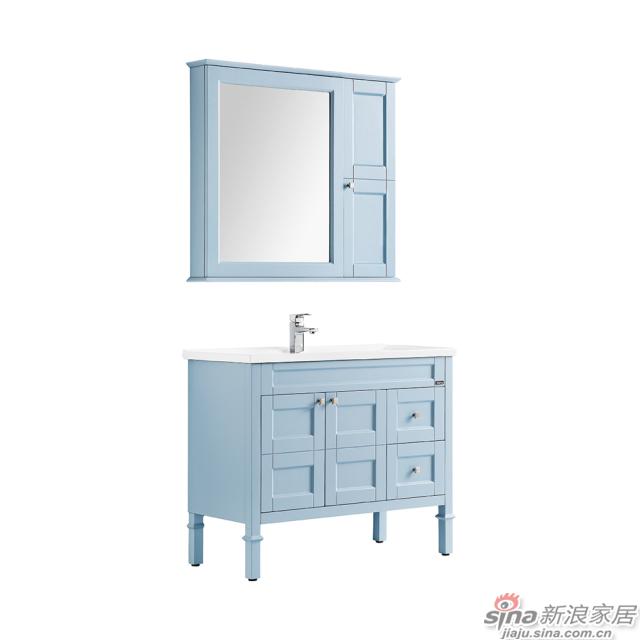 航标卫浴落地式浴室柜-1