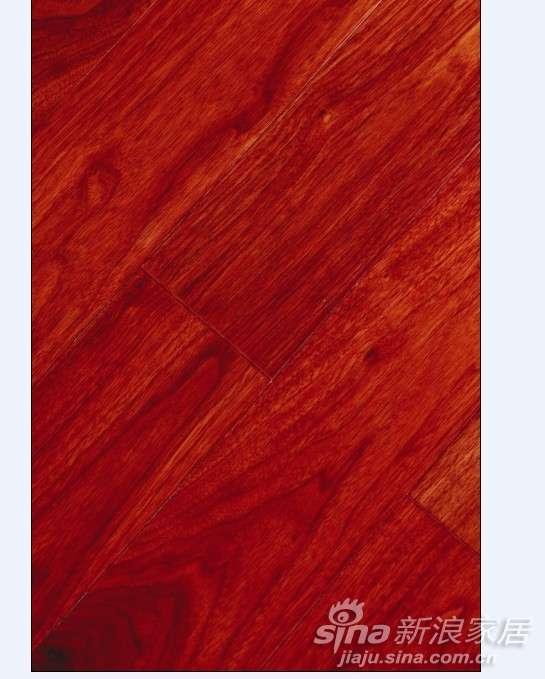 上臣黑胡桃F5-G-1圣母之恋实木复合地板  -0