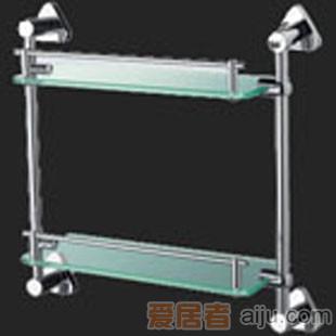 惠达-两层直式置物架-HD20121