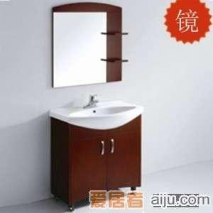 法恩莎实木浴室柜FPGM3637镜子(760*805*145mm)1