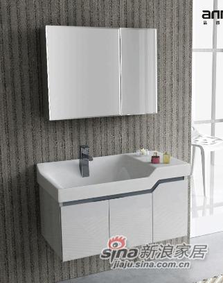 安华卫浴PVC浴室柜anPG3379G