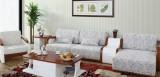 光明客厅实木沙发组发