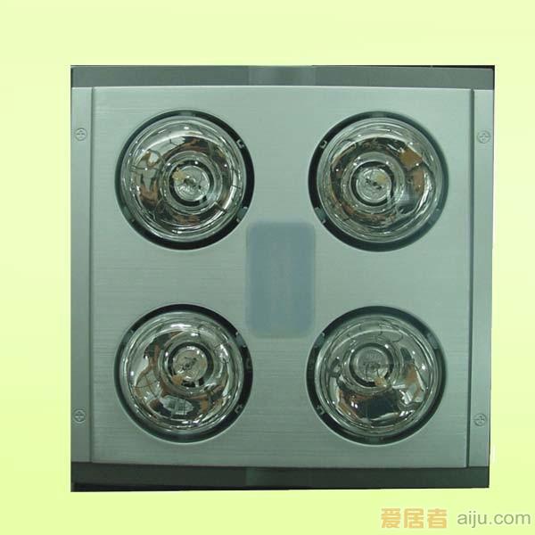 名族三合一灯暖浴霸(银色)F5301