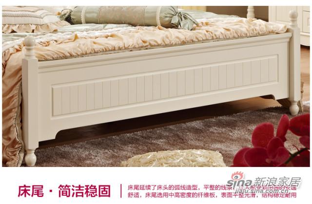 韩式实木床-1