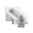 恒洁卫浴蹲便器H329A