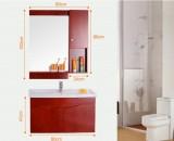 浴室柜组合洗手台盆柜