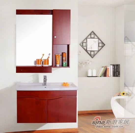 浴室柜组合洗手台盆柜-3