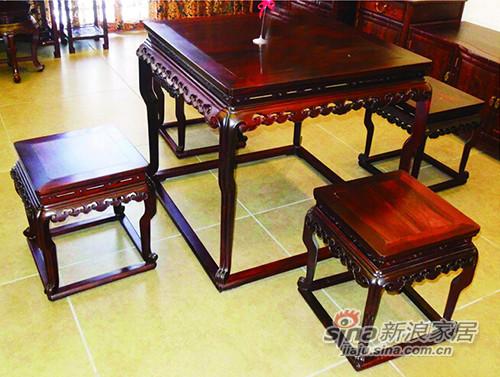 祥云方桌凳
