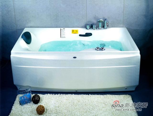 经典时尚按摩冲浪浴缸-0