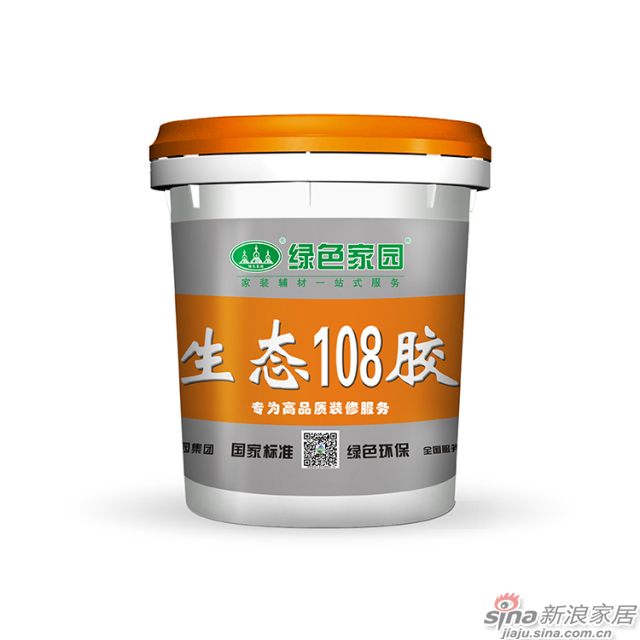 绿色家园生态108胶-16kg