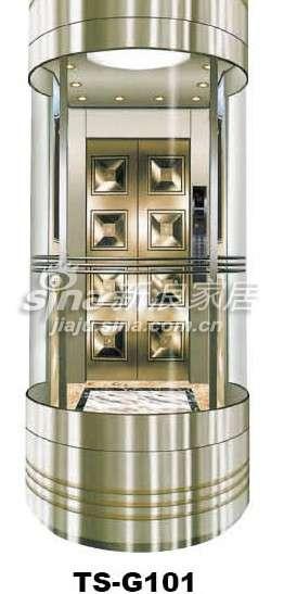 三星电梯观光电梯TS-G101