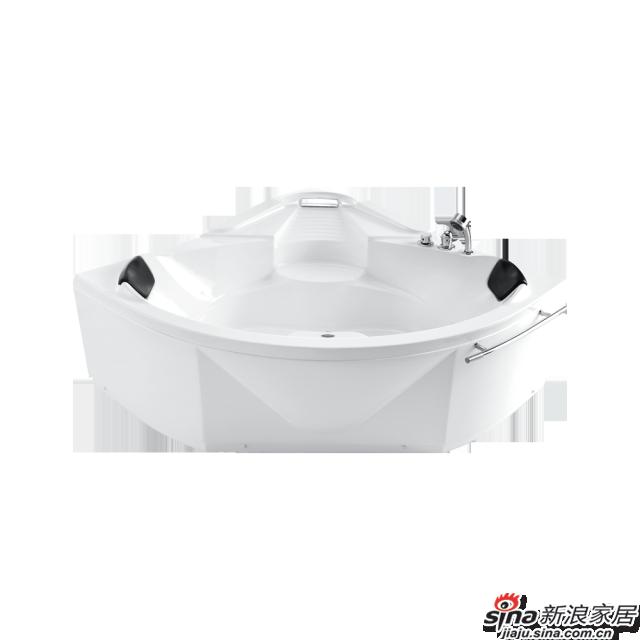 恒洁卫浴浴缸HLB615SNS1-151
