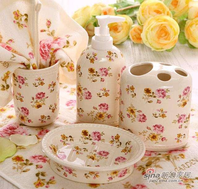 多样屋 TAYOHYA 红粉佳人系列 陶瓷四件套-米-1
