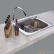 GORLDE优质不锈钢水槽/洗菜池 银莱茵系列1009FL(单盆)