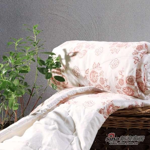 富安娜圣之花夏用超柔毛绒被/夏被 -0