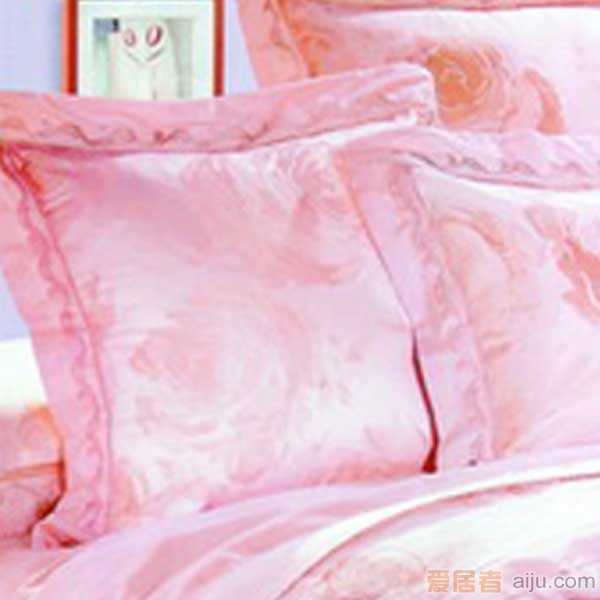 家元素床上用品-朵朵情六件套-HJ12000013